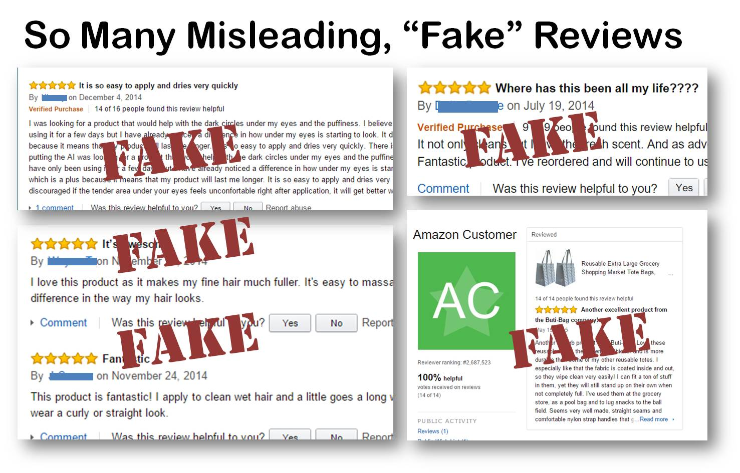How Make Fake And Mompact Understanding Spotting Amazon Can A You Difference Reviews…